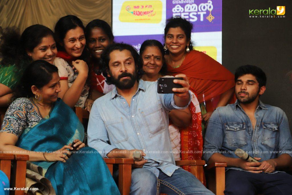 Vikram Son Dhruv at Womens College Thiruvananthapuram photos 042