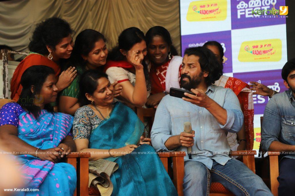 Vikram Son Dhruv at Womens College Thiruvananthapuram photos 047