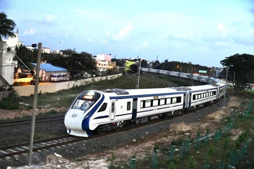 Semi High Speed Rail India