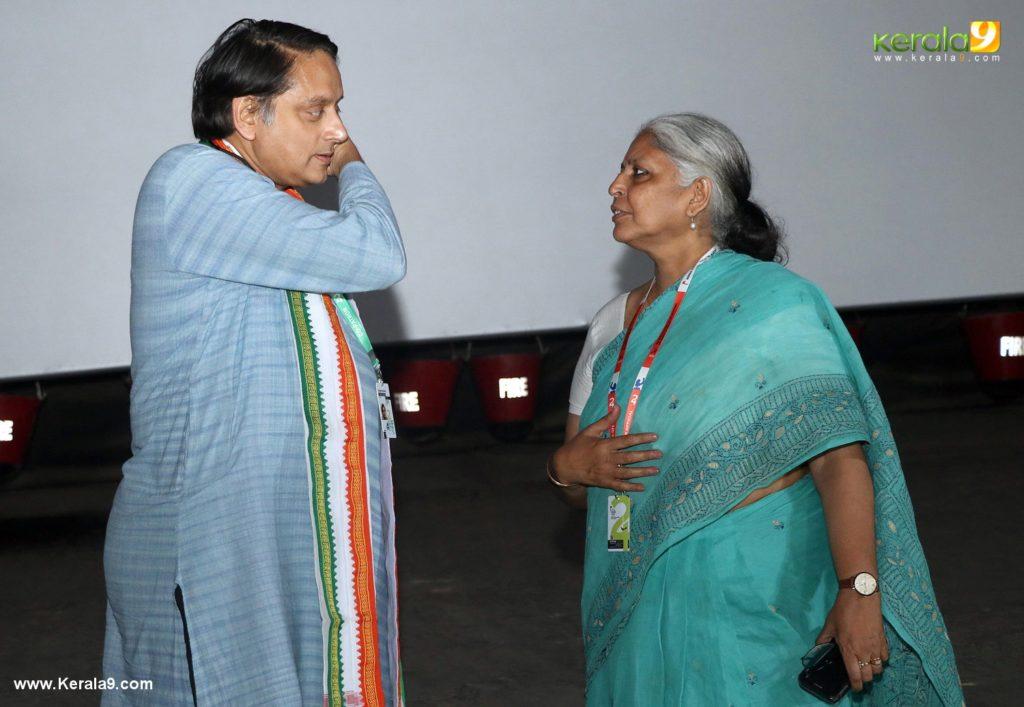 ShashiTharoor and beena paul