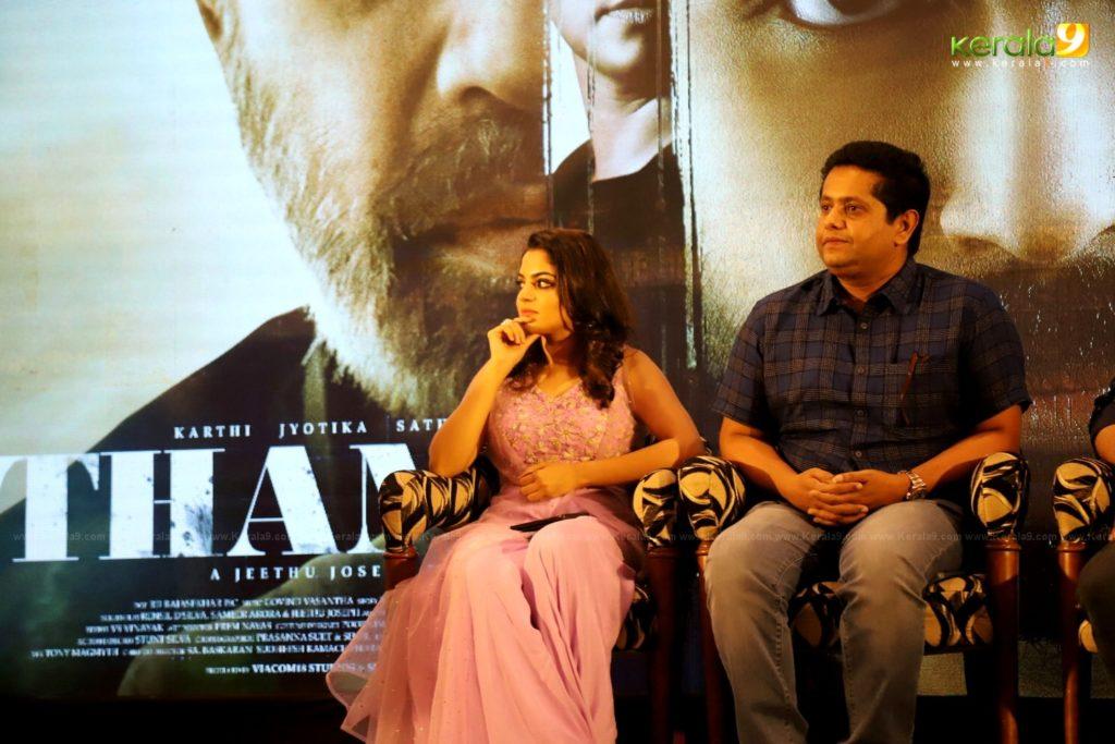 Thambi Tamil Movie Kerala Press Meet Photos 014