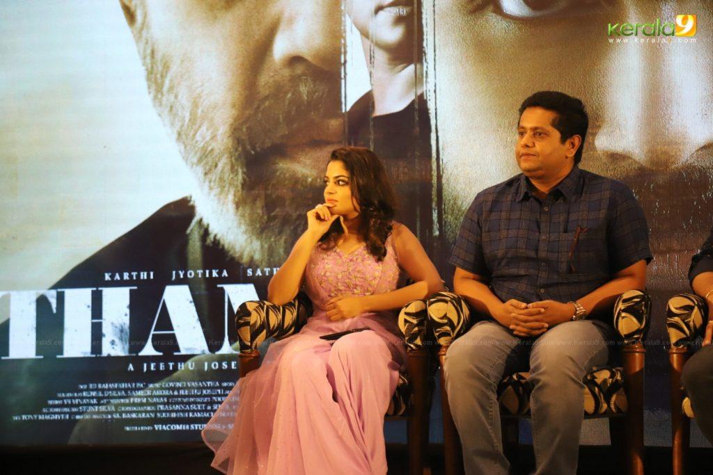 Thambi Tamil Movie Kerala Press Meet Photos 015