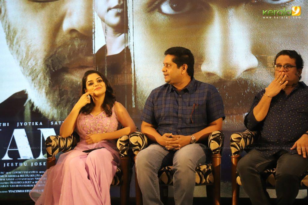 Thambi Tamil Movie Kerala Press Meet Photos 021