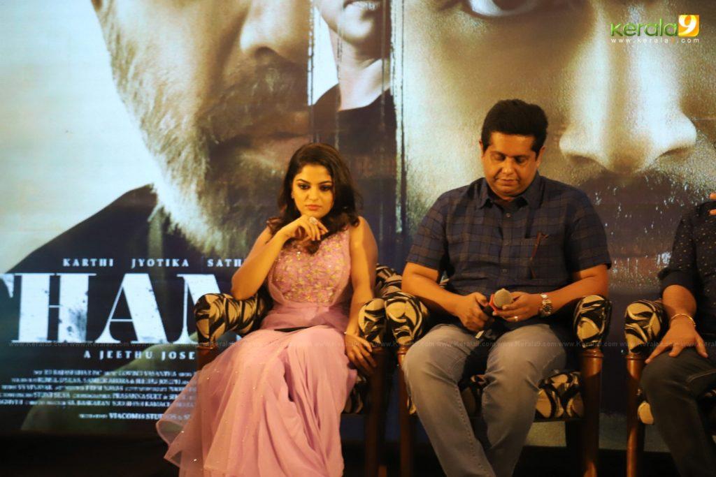 Thambi Tamil Movie Kerala Press Meet Photos 022