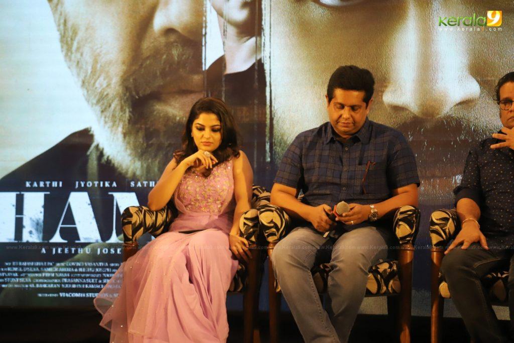 Thambi Tamil Movie Kerala Press Meet Photos 023