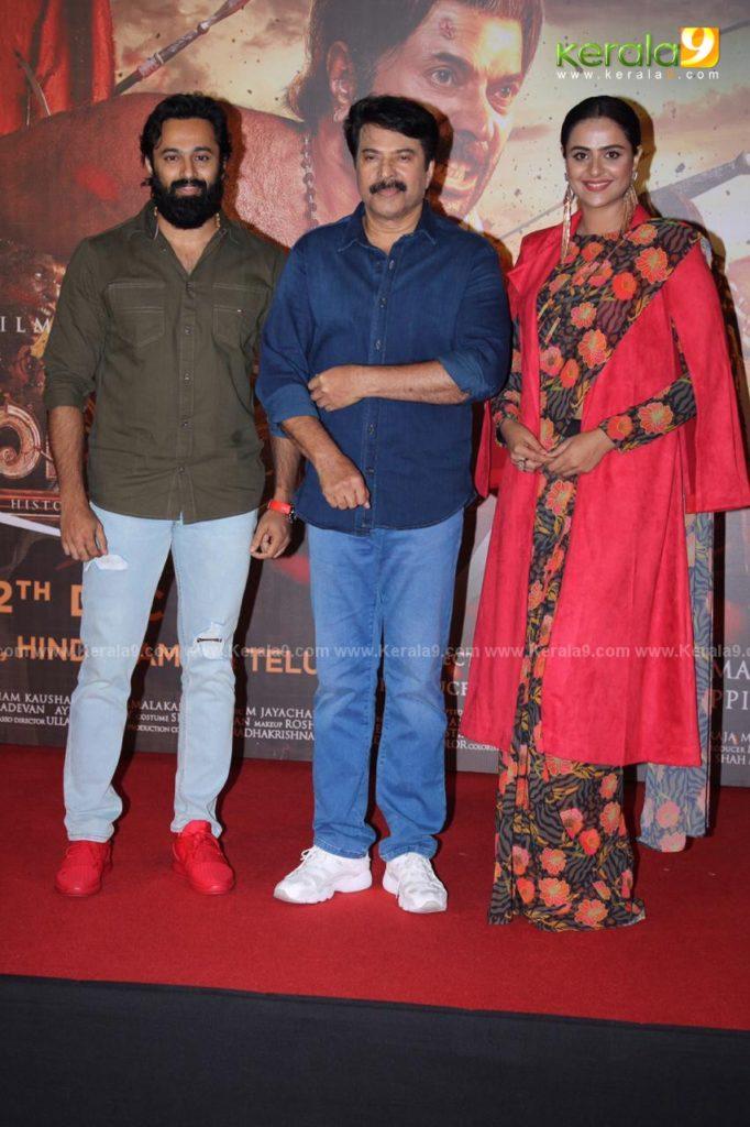 Unni Mukundan Mammootty and Prachi Tehlan at the trailer launch 1