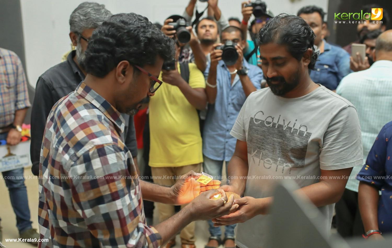 Mammootty at one malayalam movie pooja photos 017