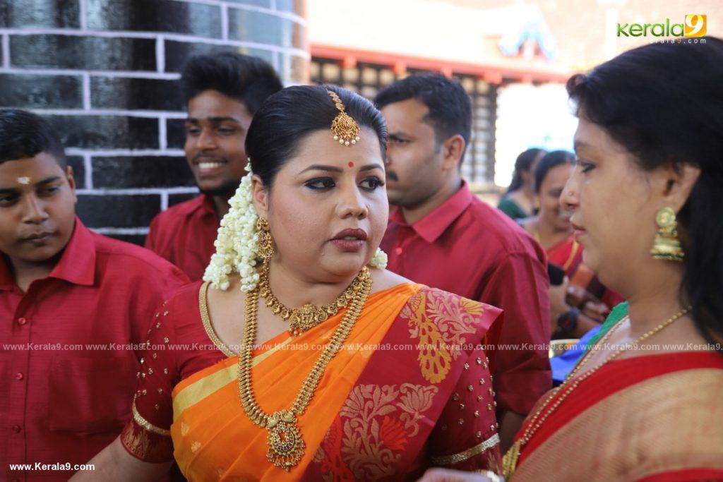 sneha sreekumar marriage photos 002