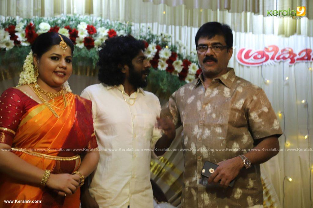 sneha sreekumar marriage photos 200
