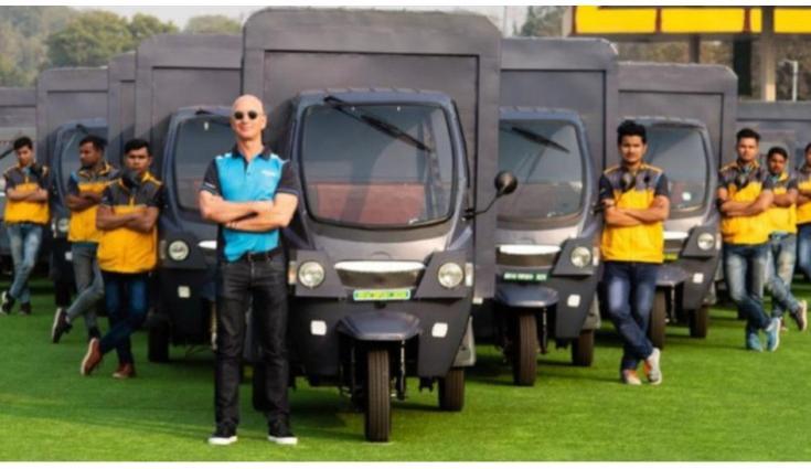 Amazon launch electric autorickshaws in India