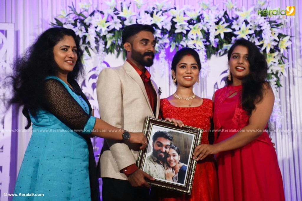 Darshana Das Wedding Reception Photos 056