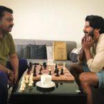 suresh gopi in Varane Avashyamundu Movie Stills 004