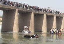 25 killed as bus falls into the river