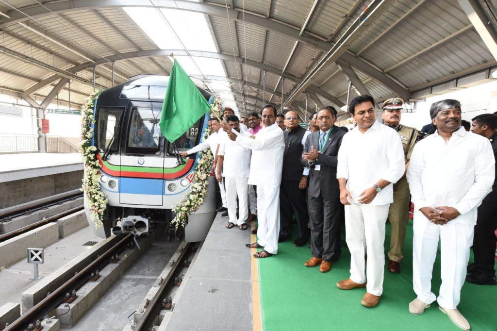 Hyderabad Metro Inaugurated