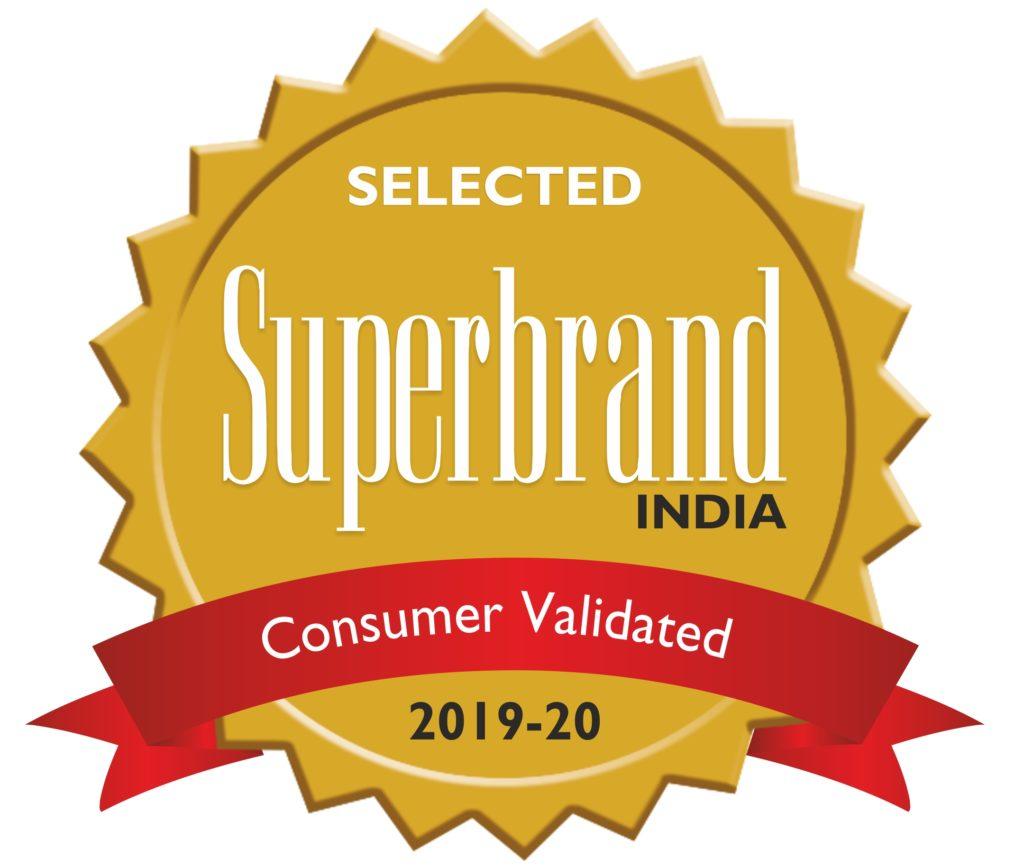Superbrands Consumer Validated Award Seal 2019 20