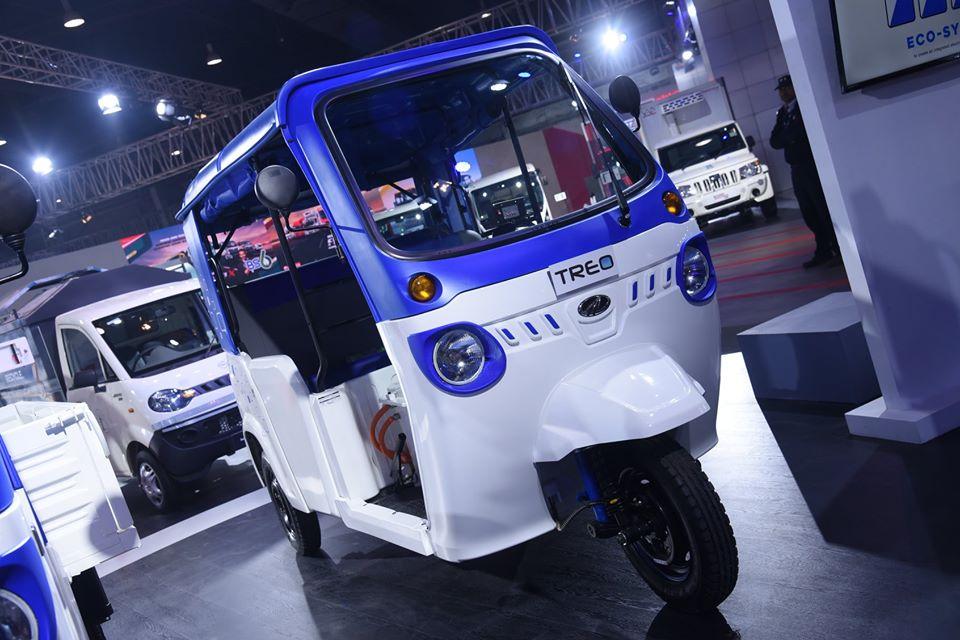 Trio 2 0 Electric Auto with solar