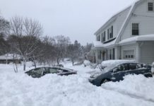 Turkey snowfall