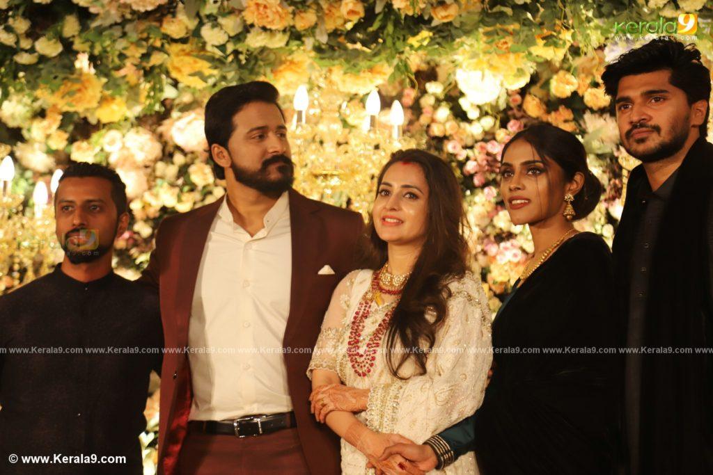 bhama marriage reception photos 060