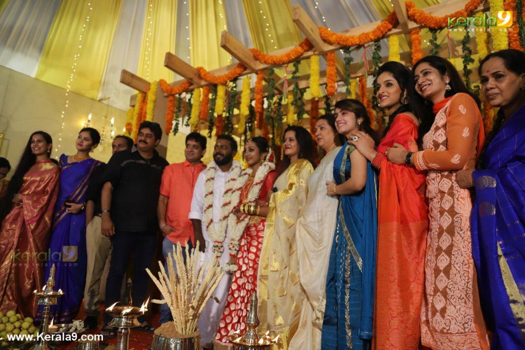vishnu unnikrishnan marriage photos 090