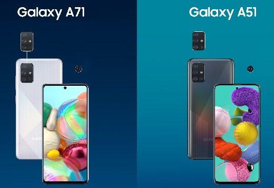 Galaxy A51 and Galaxy A71