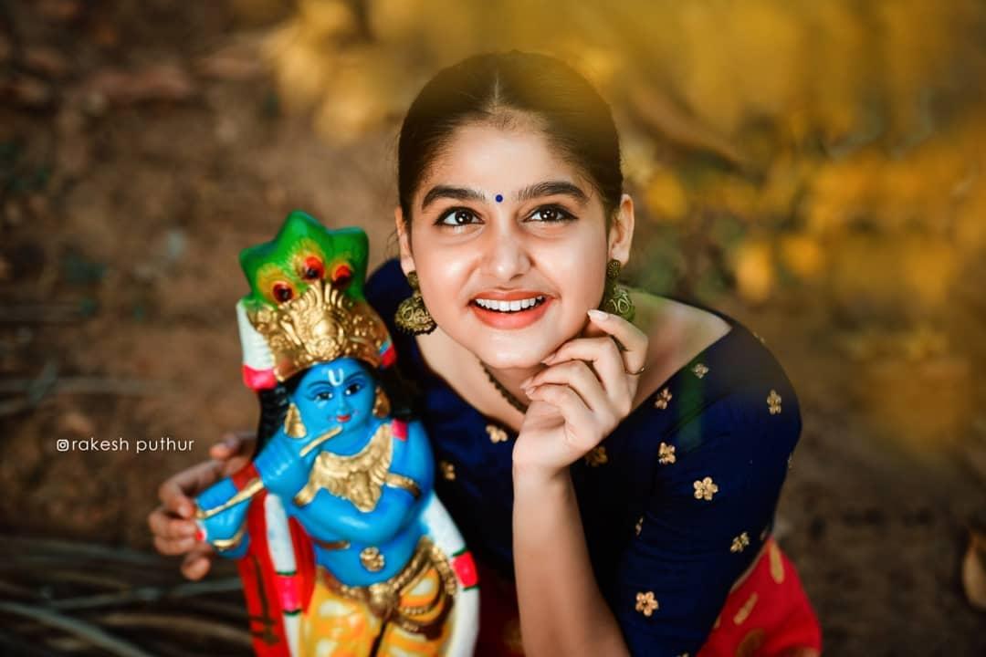 actress anaswara rajan vishu photos