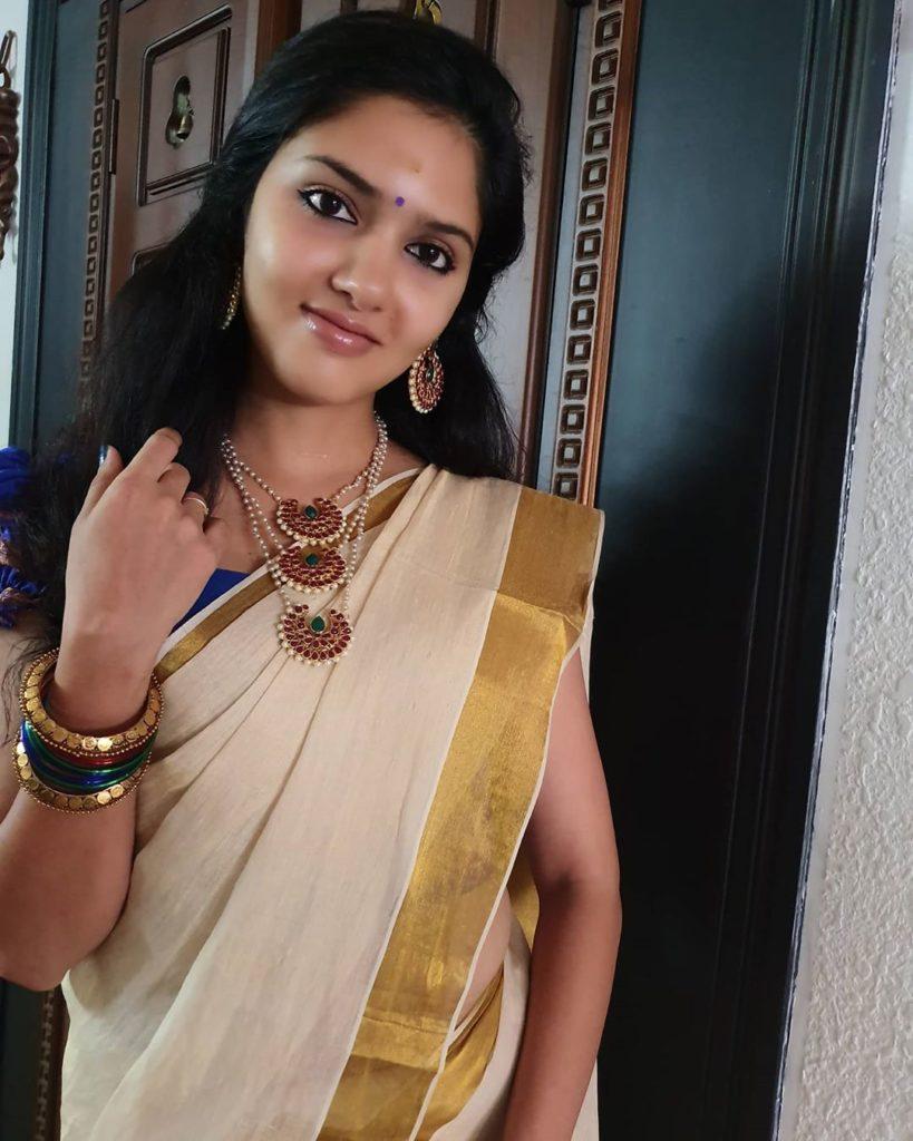 gayathri suresh vishu celebration pics