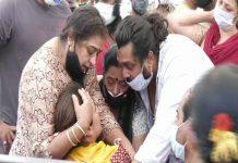 Meghana Raj Husband Chiranjeevi Sarja Funeral Photos 024