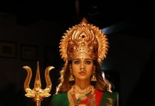 nayanthara new movie Mookuthi Amman stills 001