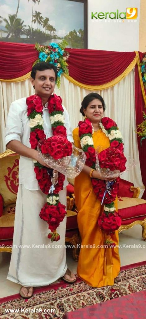 pinarayi vijayan daughter marriage photos