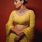actress saniya iyappan new photoshoot in yellow dress 002 - Kerala9.com