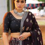 actress shamna kasim latest images in black dress 002 - Kerala9.com