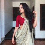 ahana krishnakumar new saree photos 012 - Kerala9.com