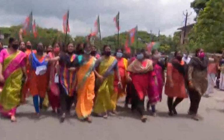 kerala protests - Kerala9.com