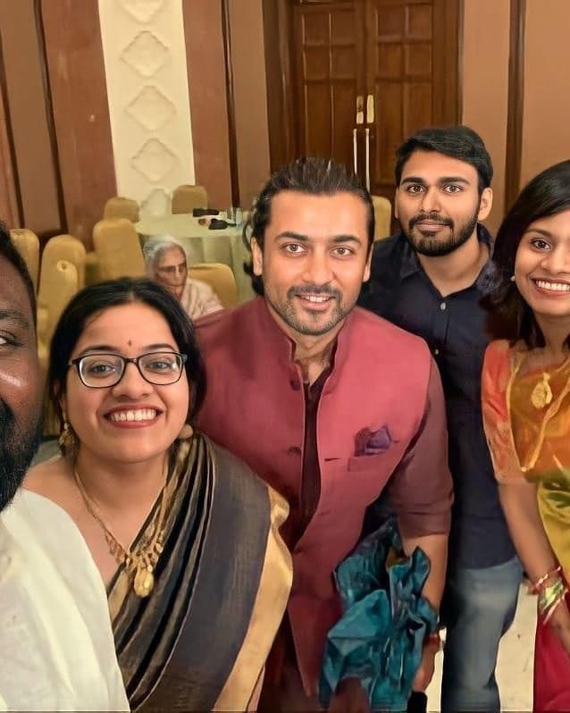 Actor Suriya at Sudha Kongara Daughter Wedding Photos 005