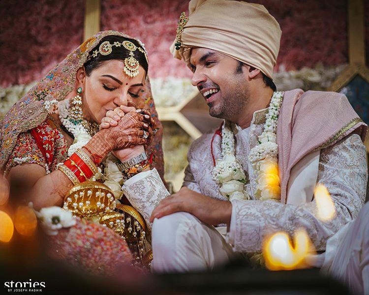 actress kajal aggarwal marriage photos - Kerala9.com