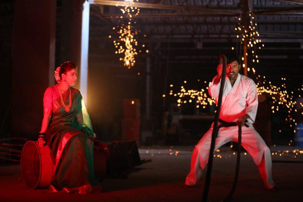 mookuthi amman new movie photos