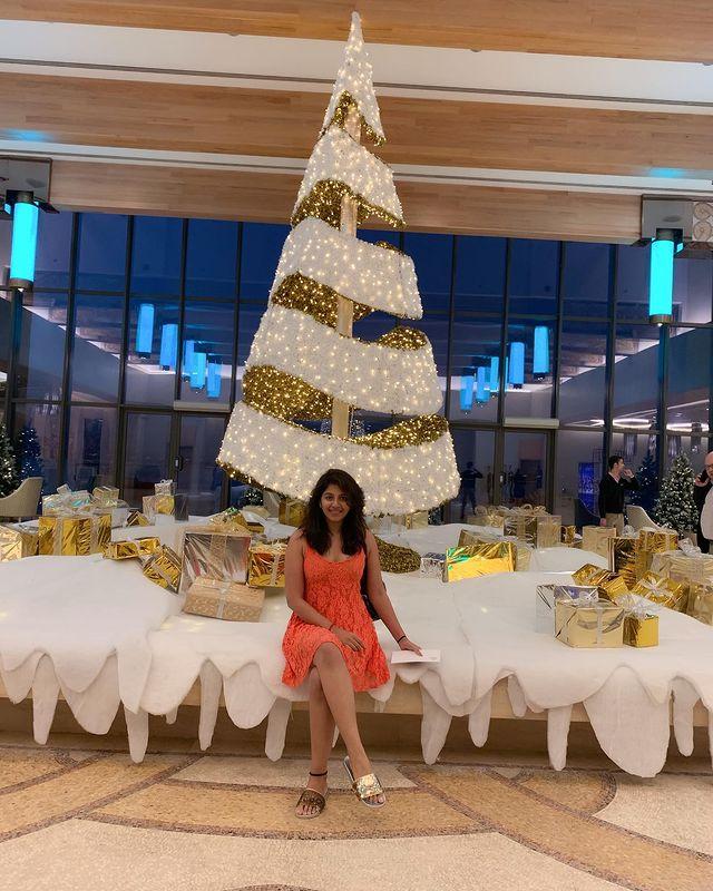 Celebrities Christmas Celebration Photos 2020 009