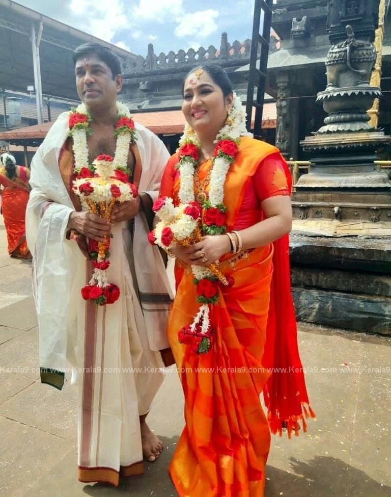 Malayalam Actress Yamuna Marriage Photos 006