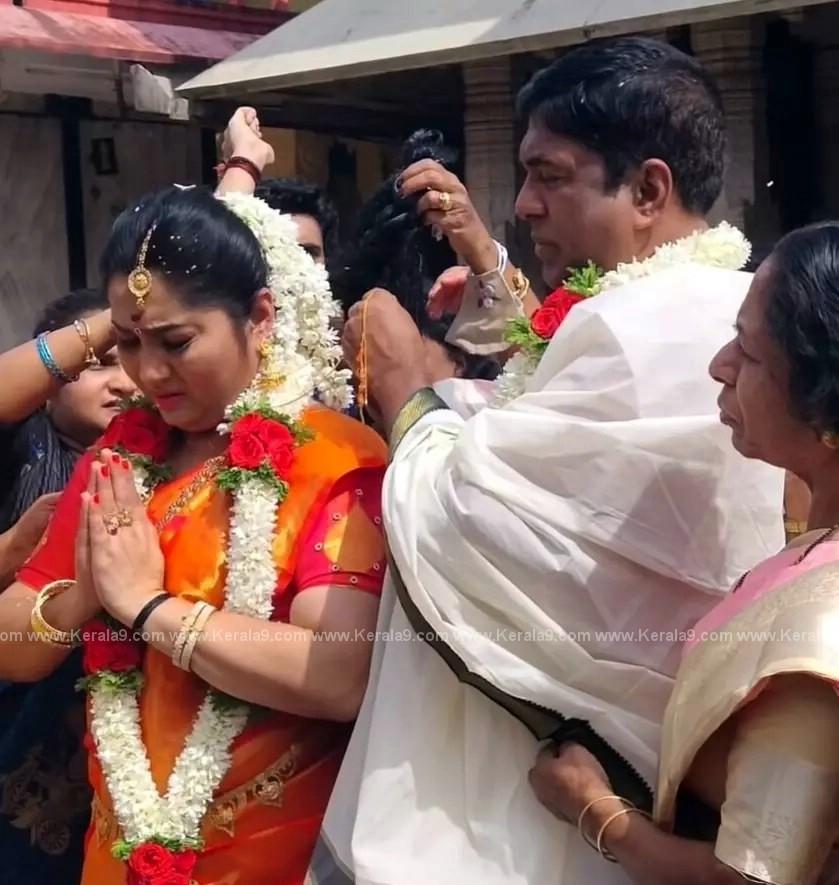 Malayalam Actress Yamuna Marriage Photos 007