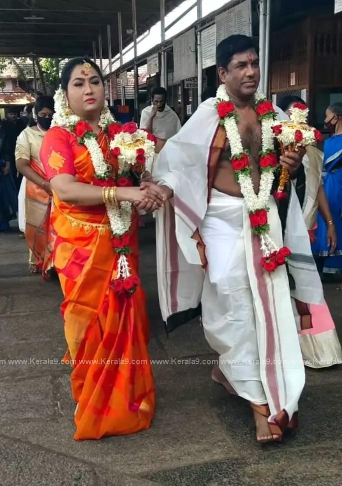 Malayalam Actress Yamuna Wedding Photos 002