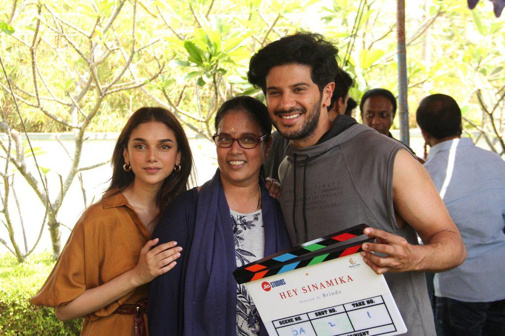 dulquer salmaan in Hey Sinamika Tamil Movie photos - Kerala9.com