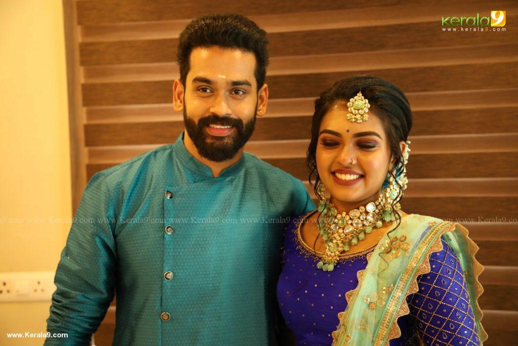 yuva krishna engagement photos