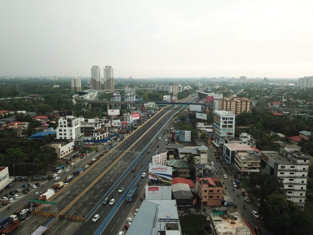 Kochi new flyover photos