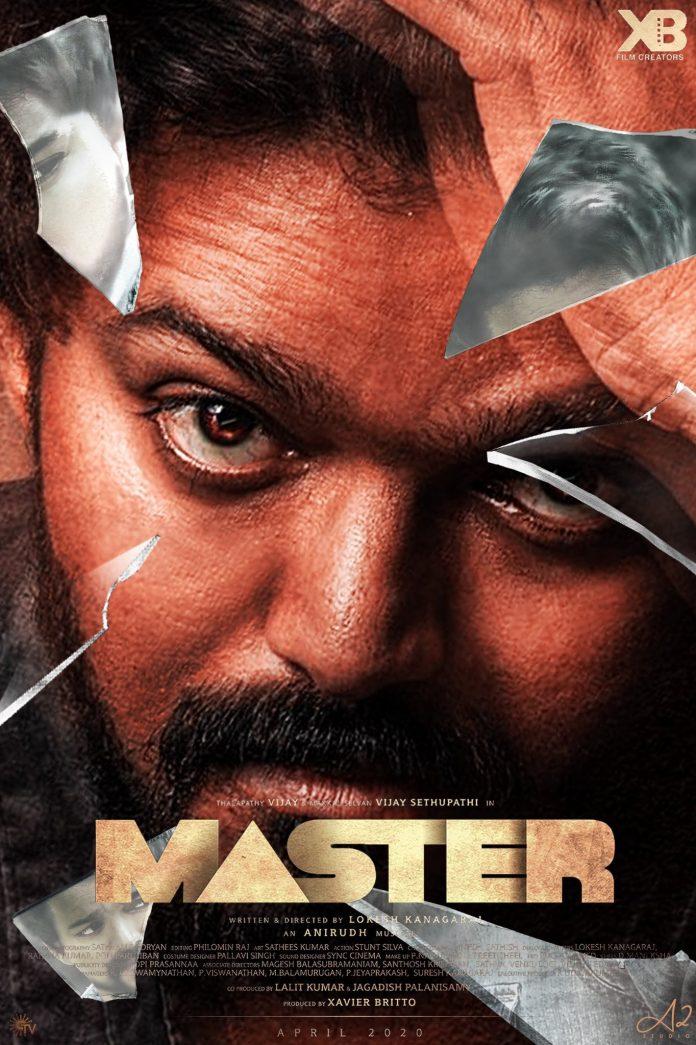 Master movie poster 1 - Kerala9.com