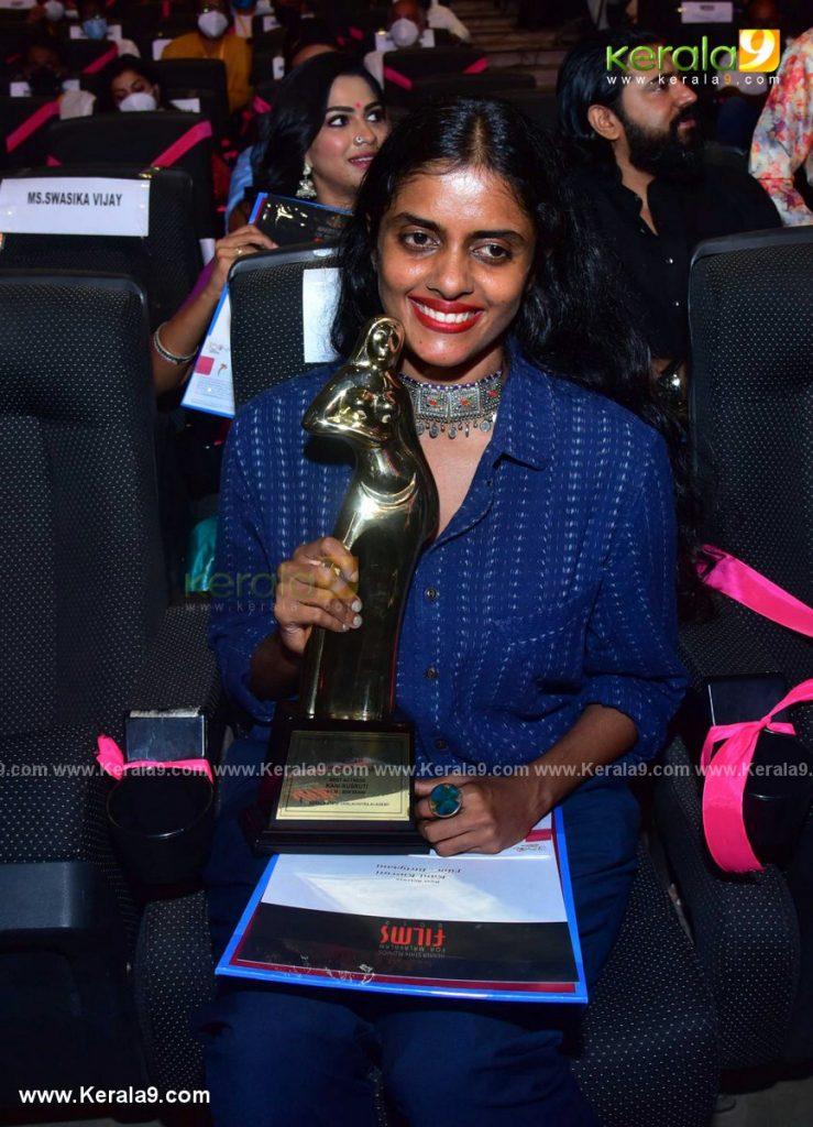 kerala state film awards 2021 best actress Kani Kusruti photos 001 - Kerala9.com