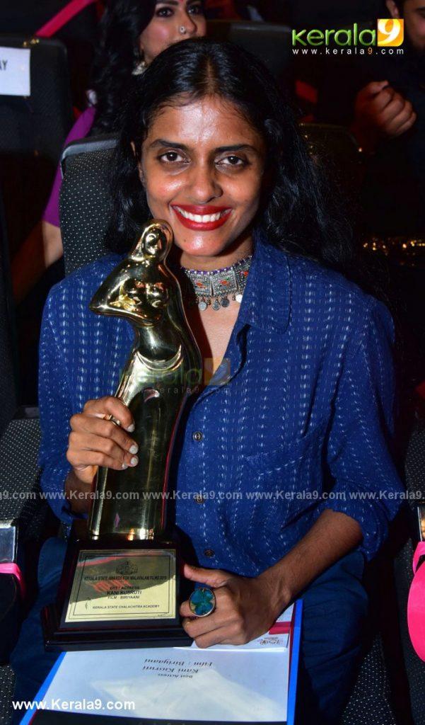 kerala state film awards 2021 best actress Kani Kusruti photos 002 - Kerala9.com
