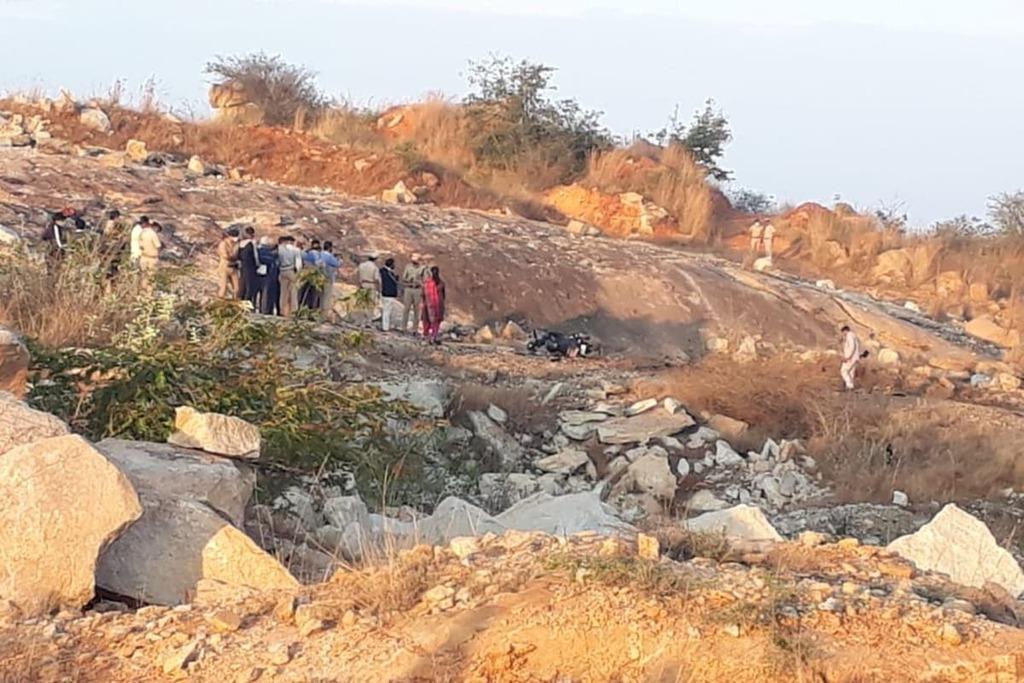 Quarry blast1