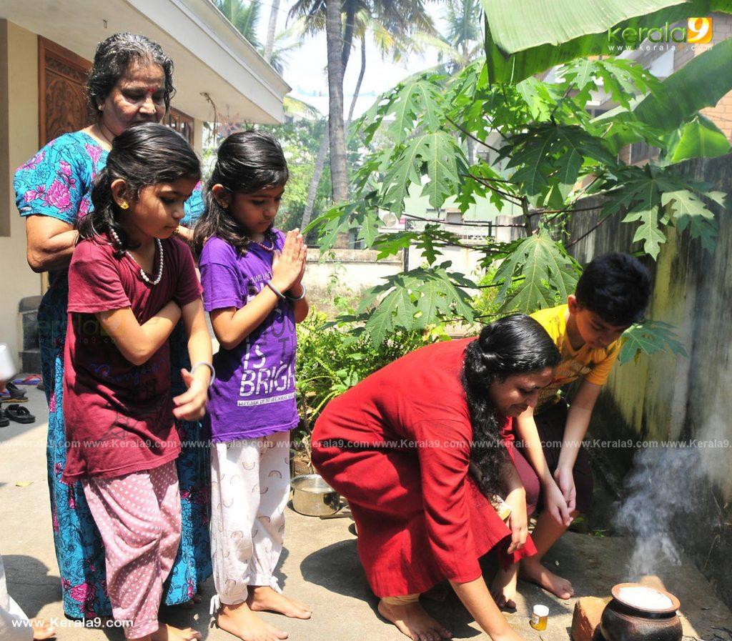 attukal pongala 2021 at home photos 002 - Kerala9.com