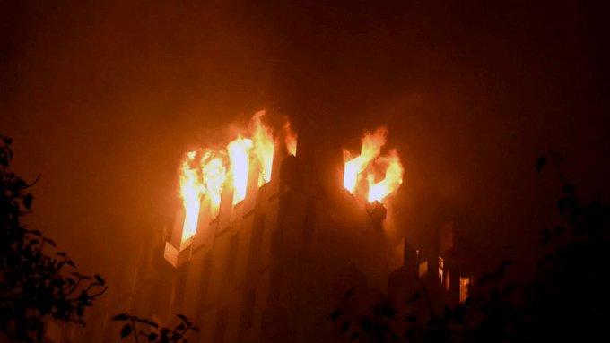 Fire in Kolkata - Kerala9.com