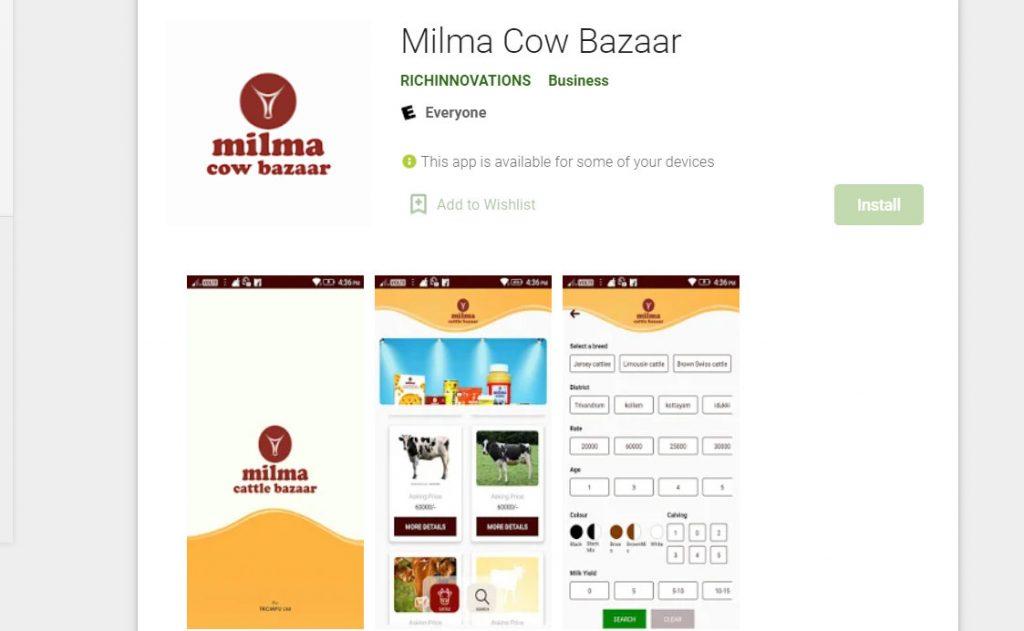Milma Cow Bazaar